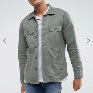 ABERCROMBIE & FITCH Military Two Pocket Overshirt
